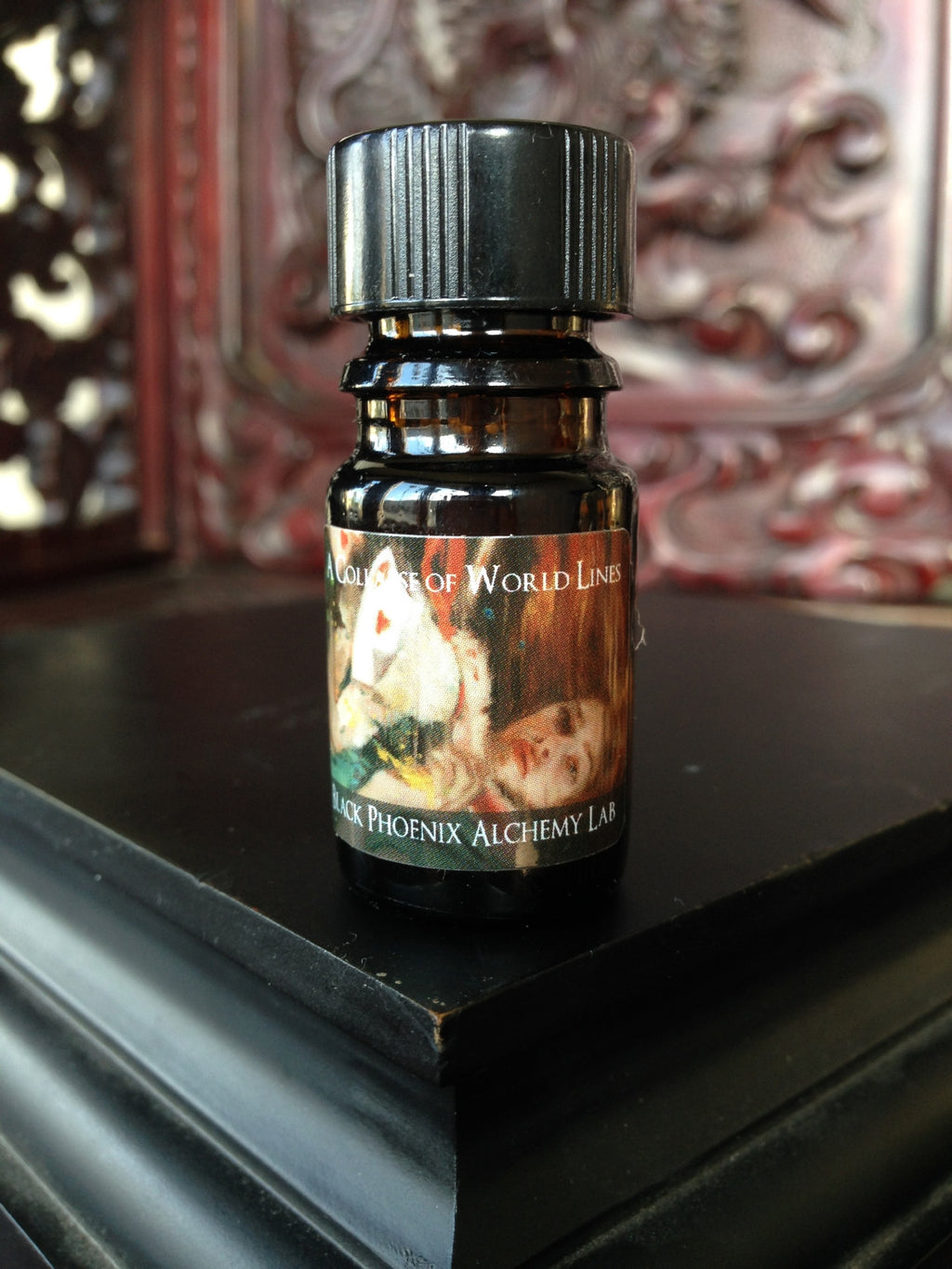 """A Collapse of World Lines"" LIMITED EDITION scented oil from Black Phoenix Alchemy Lab"
