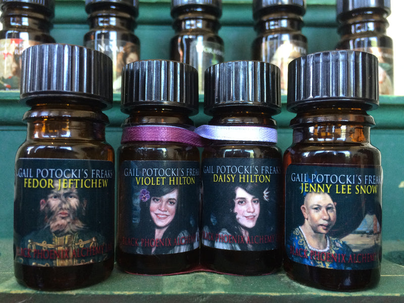 Four FREAKS oils from BPAL