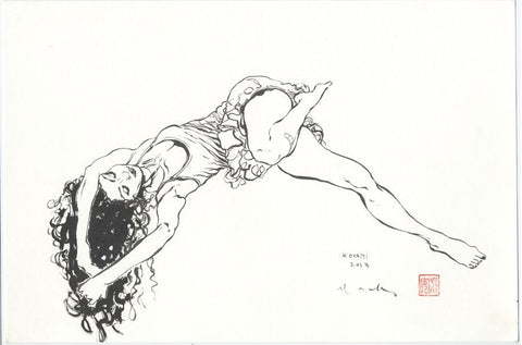 David Mack MUSE II Life Drawing