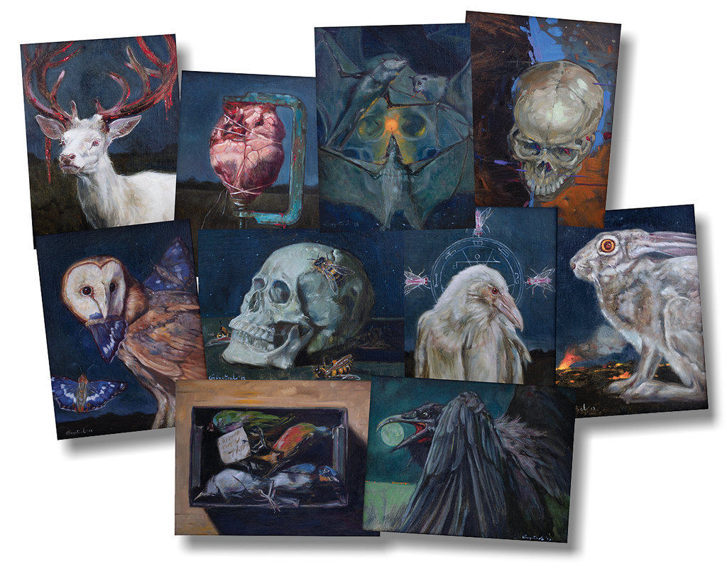 Gail Potocki NOCTURNES Miniature Print Set Signed and Numbered Folio