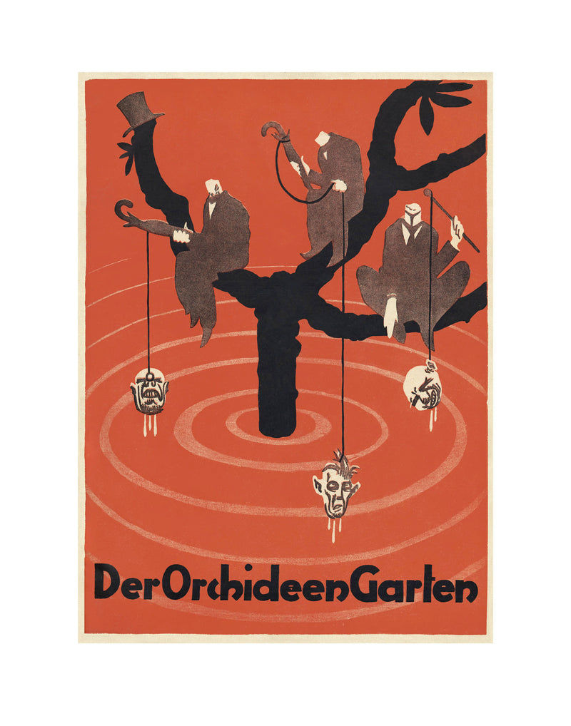 Der Orchideengarten Eldritch Bloom Vol. 3 Print 5 [Letterpress]