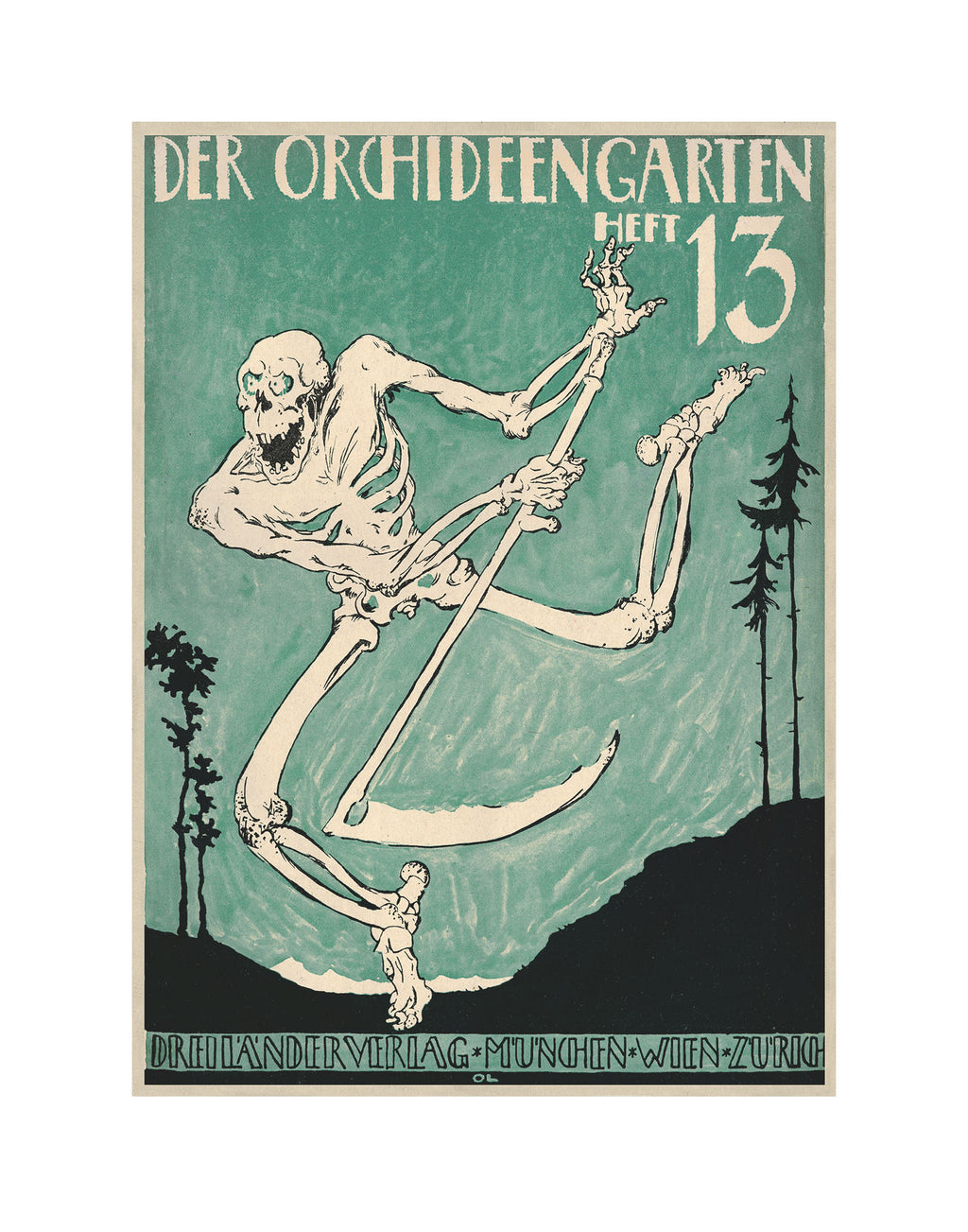 Der Orchideengarten Fantasy Sci Fi The Orchid Garden Occult Art