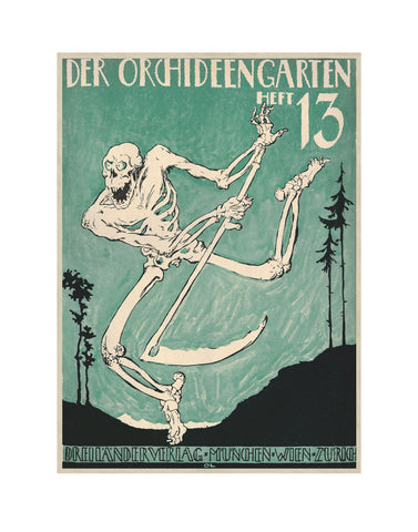 The Dance of Death (Totentanz) German Release Poster - Josef Fenneker (11x14 Patronage Print #57)