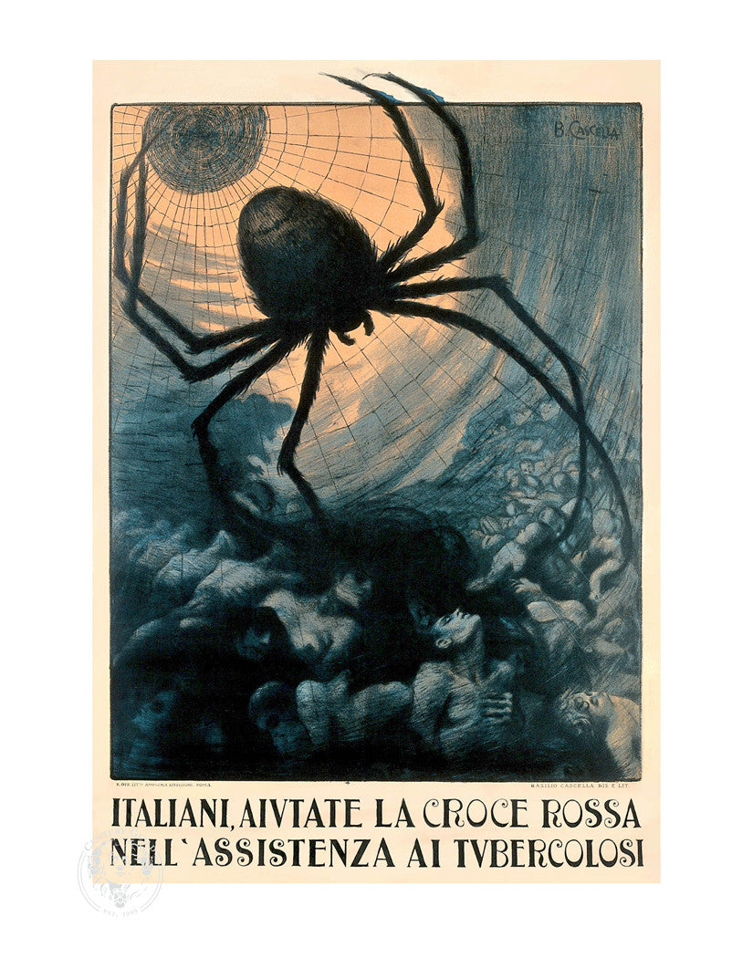 Spider (11x14 Patronage Print #46)