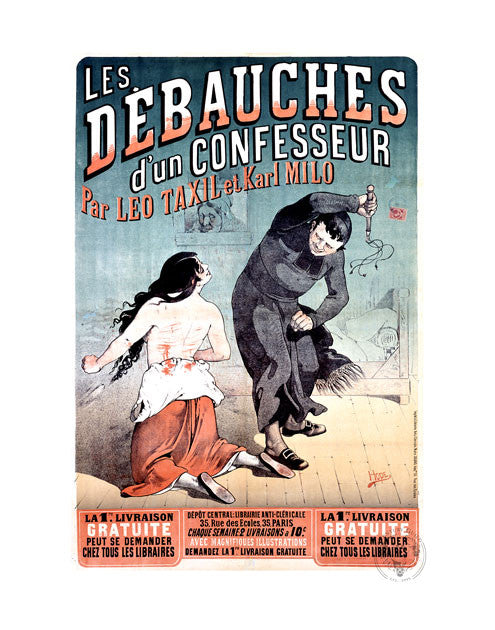 Debaucheries of the Confessor (11x14 Patronage Print #21)