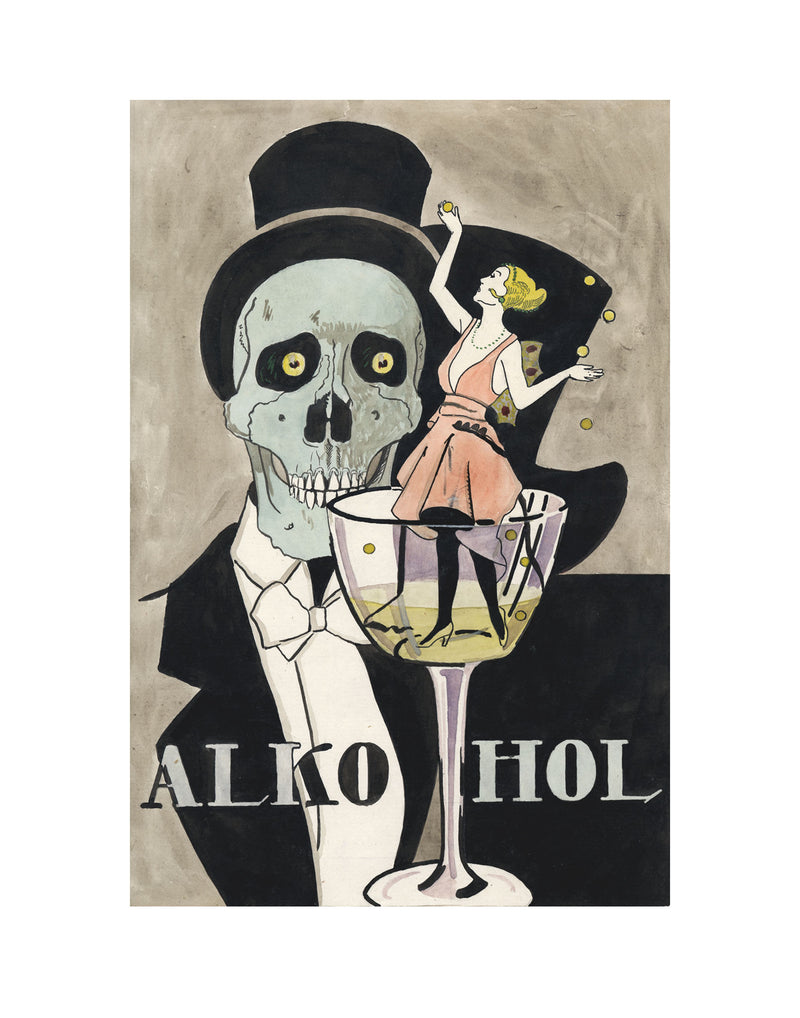 Anti-Alcohol (11x14 Patronage Print #14)