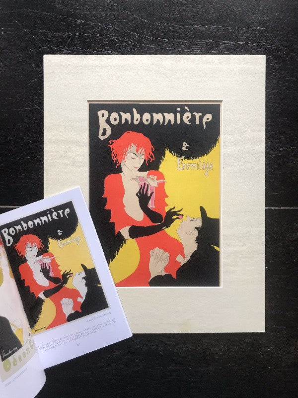 Transcendent Luxury: Original Antique German Art Deco Lithograph c. 1920