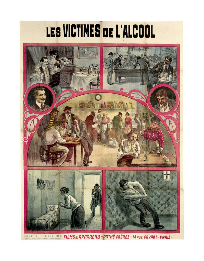 The Victims of Alcohol (11x14 Patronage Print #8)