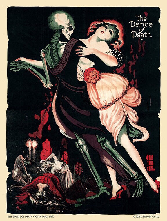 The Dance of Death (Totentanz) [1919] Silent Film Limited Edition Museum Print (22 x 29)