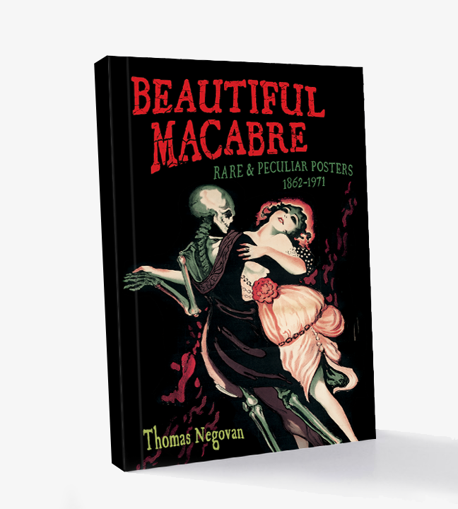 Dance of Death Beautiful Macabre Art Book - Rare Propaganda Anti War Venereal Disease Syphilis Silent Film Theater Posters Century Guild Museum