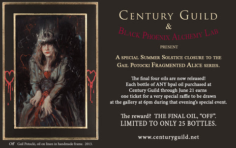 """Grand Guignol: Thanatos"" LIMITED EDITION scented oil from Black Phoenix Alchemy Lab"