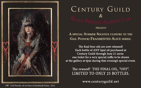 """The Severed Continuum"" LIMITED EDITION scented oil from Black Phoenix Alchemy Lab"