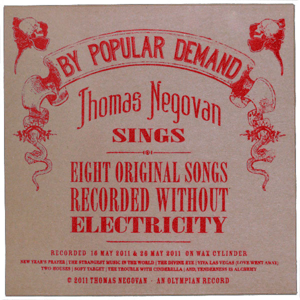 Thomas Negovan - By Popular Demand (Red Edition)