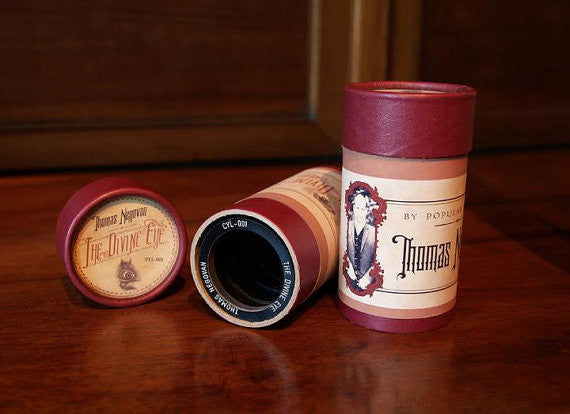 Thomas Negovan - The Divine Eye Wax Cylinder Single
