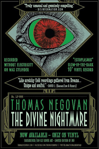 "Thomas Negovan ""THE DIVINE EYE"" Ltd Ed. Silkscreen Poster by Malleus"