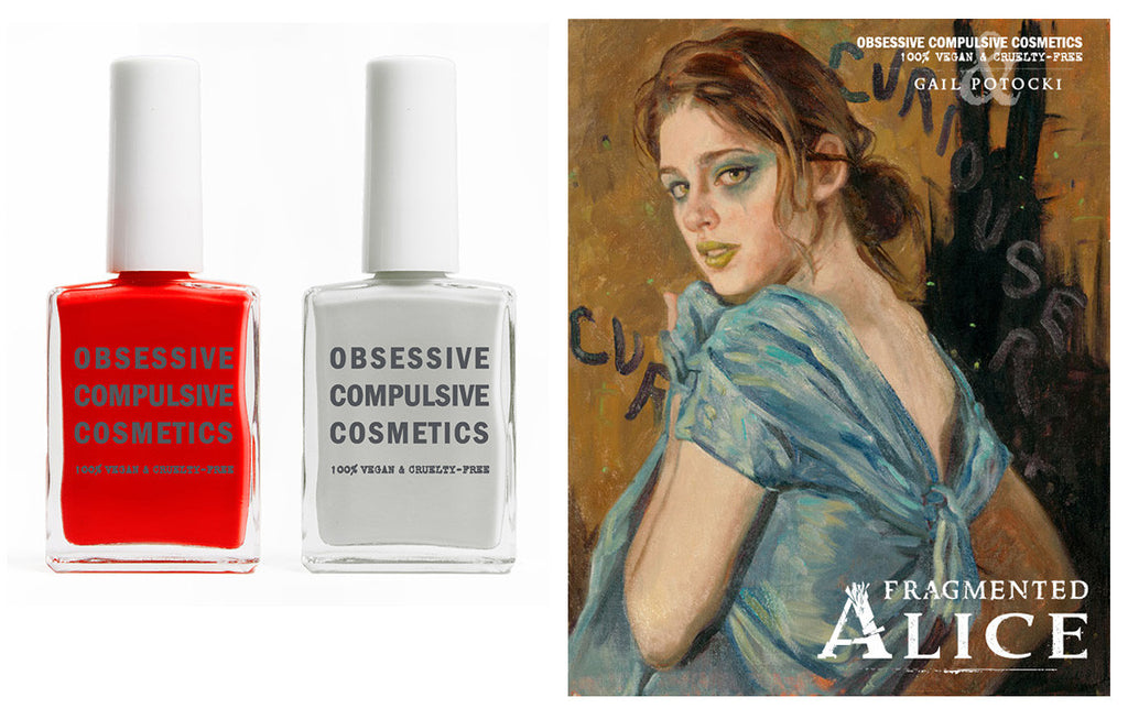Gail Potocki's Fragmented Alice: OCC Limited Edition nail lacquers