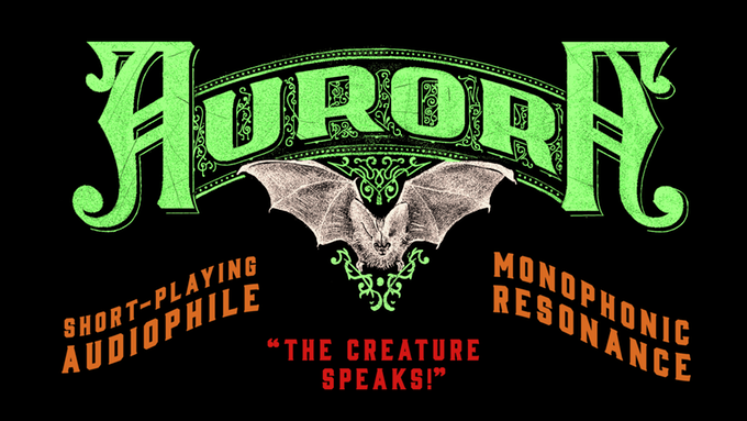 Aurora Motion Picture Soundtrack: The Creature Speaks! Wax Cylinder Single