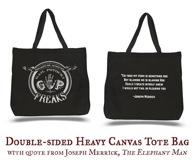 FREAKS Canvas Tote Bag