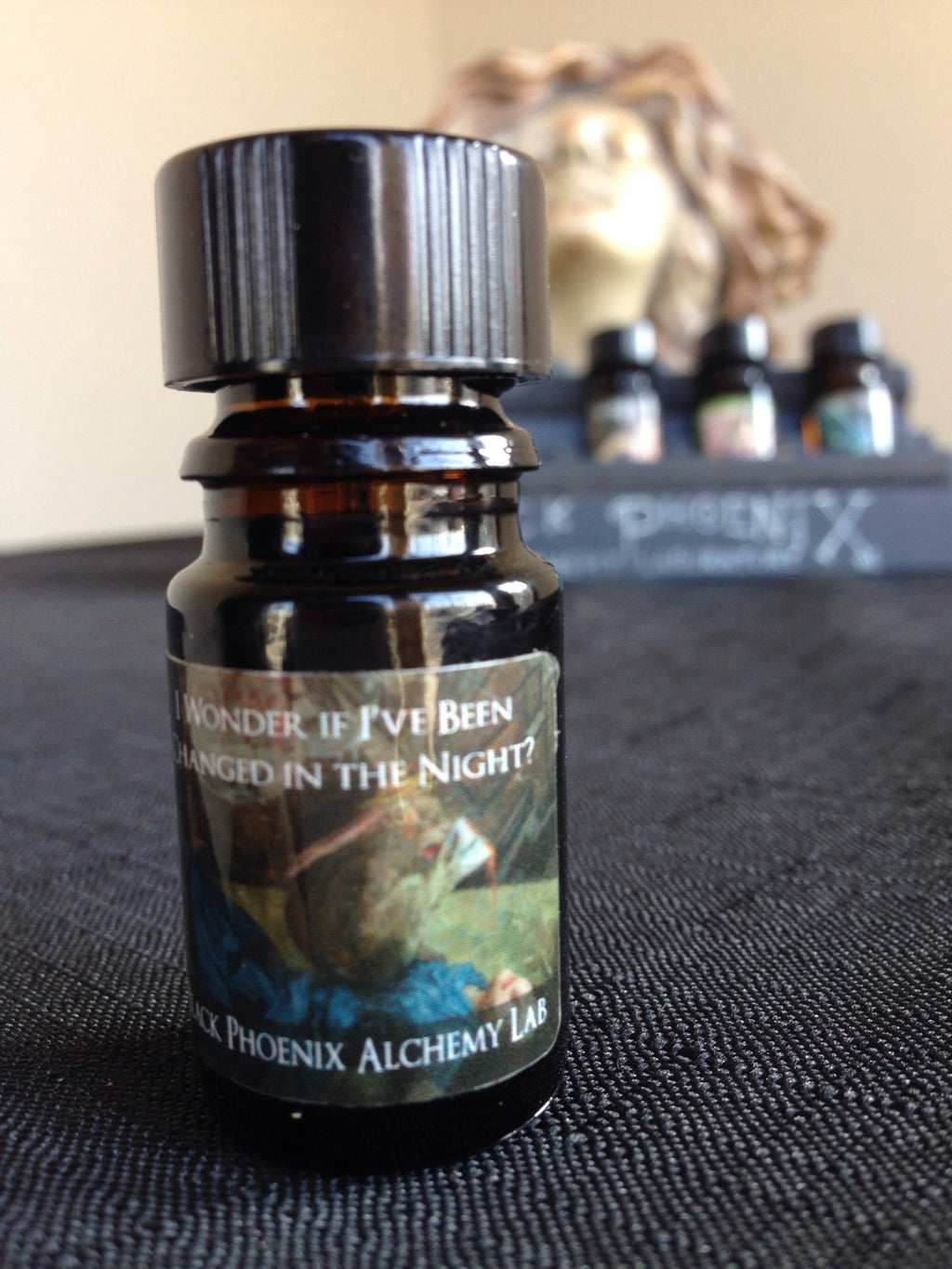 """I Wonder If I've Been Changed In The Night"" LIMITED EDITION scented oil from Black Phoenix Alchemy Lab"