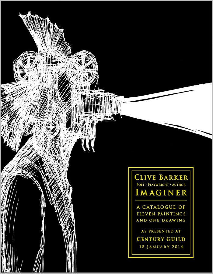 Clive Barker IMAGINER [Exhibition Catalog]