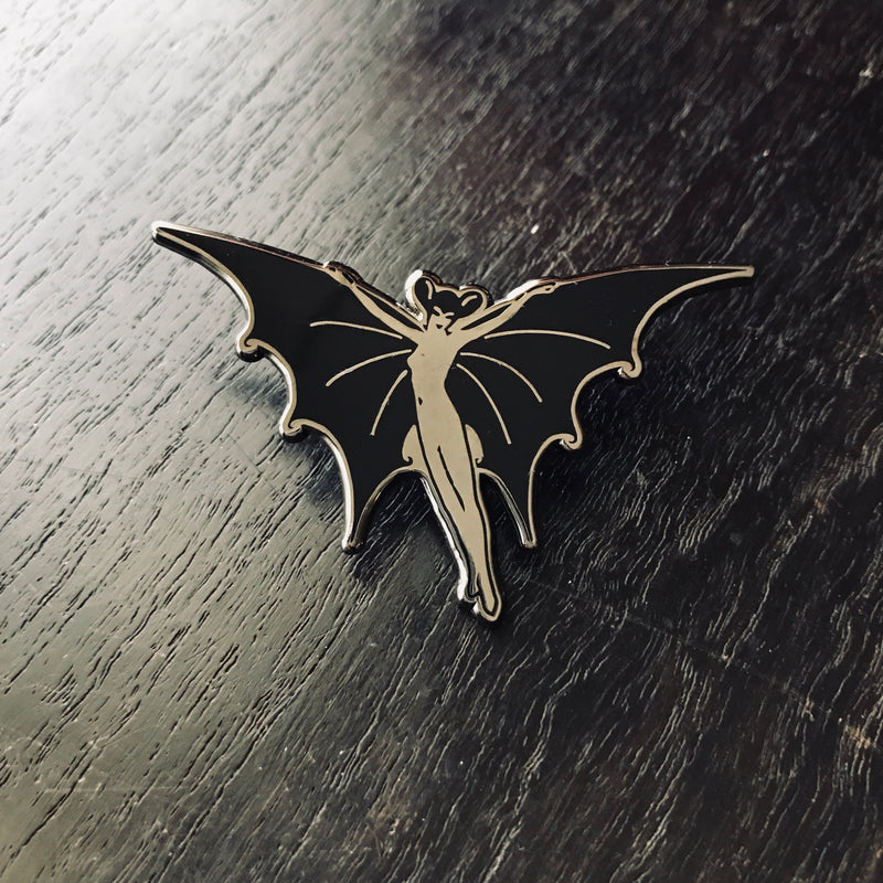 Infernal Creatures Enamel Pin [Vampire Bat]