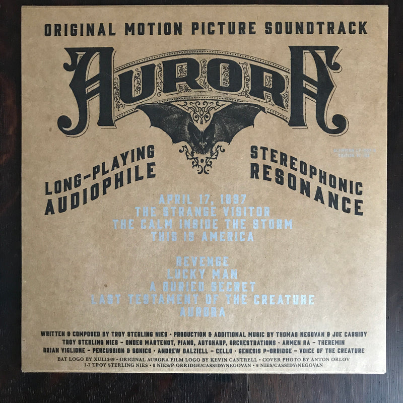 Aurora Motion Picture Soundtrack LP Vinyl Record [Nebula Variant]