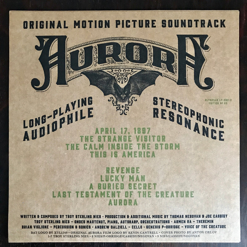 Aurora Motion Picture Soundtrack LP Vinyl Record [Radioactive Variant]