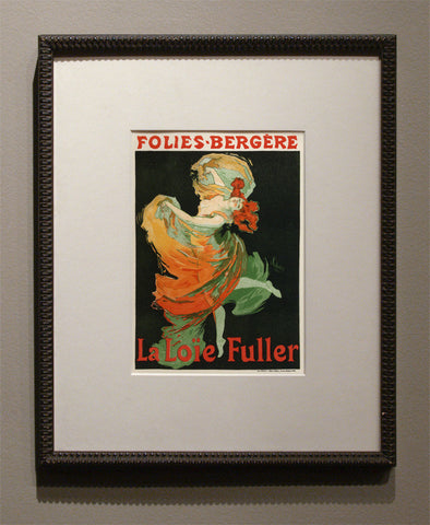 "Jules Cheret ""MOULIN ROUGE"" Lithograph, 1896"