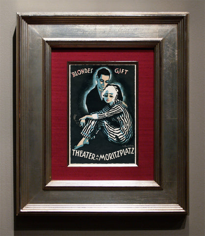 """The Dance of Death"" aka ""Totentanz"" Lithograph poster, c. 1920"
