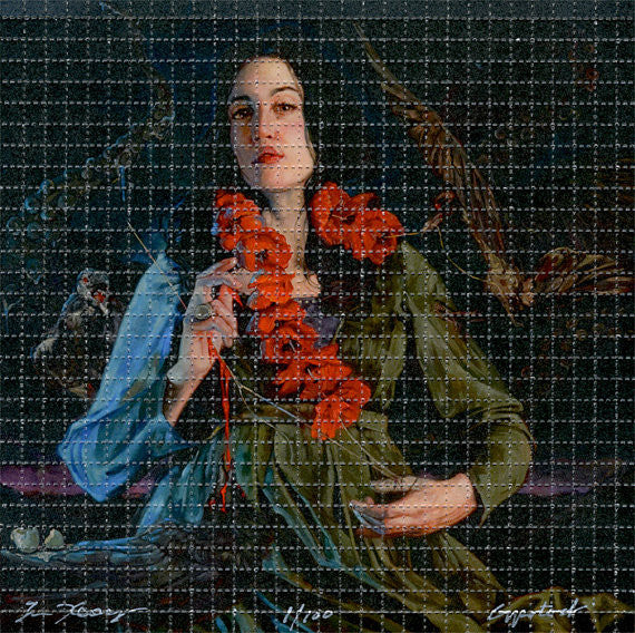 "Gail Potocki ""Through the Never"" Blotter Art Print"