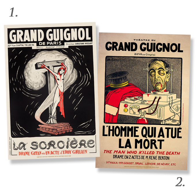 Grand Guignol Limited Edition Museum Print (16.25 x 24)