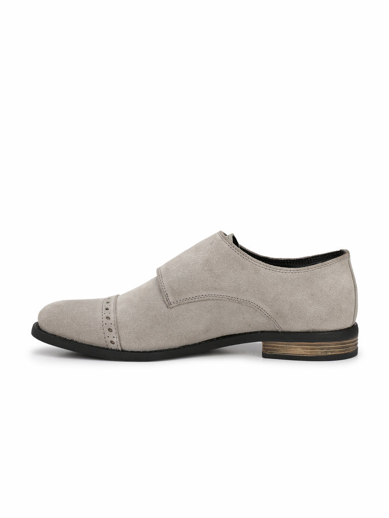 Grey Monk Strap Boots | Full Grain Leather | Saddle & Barnes