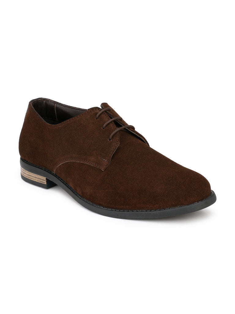 Brown Oxford Shoes | Full Grain Leather | Saddle & Barnes