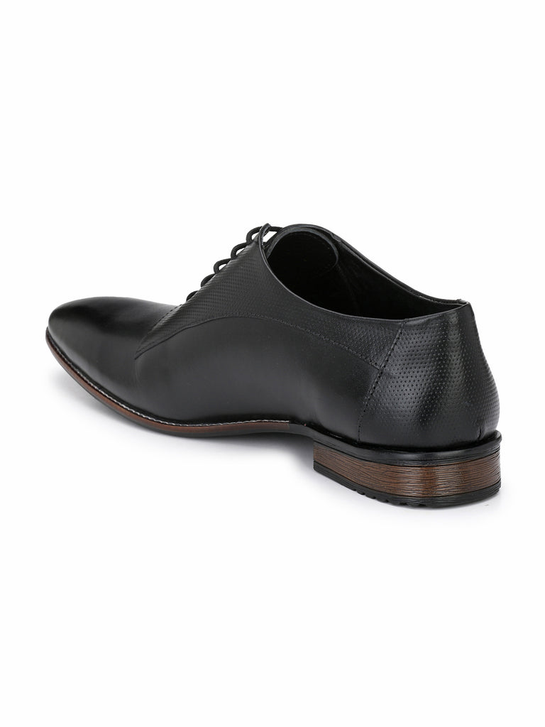 Black Oxfords | Full Grain Leather | Saddle & Barnes
