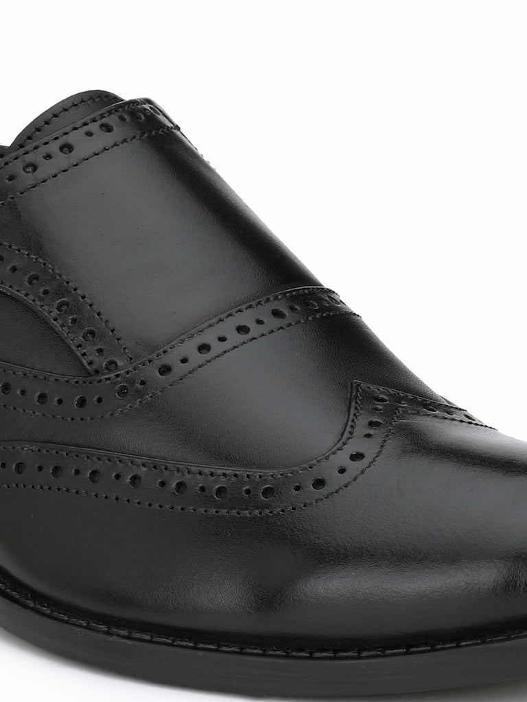 Black Monk Strap Boots | Full Grain Leather | Saddle & Barnes