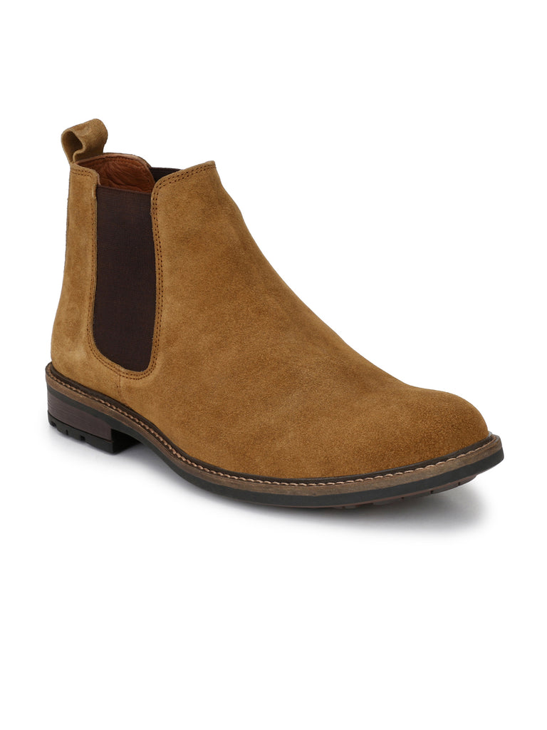Tan Chelsea Boots | Full Grain Leather | Saddle & Barnes