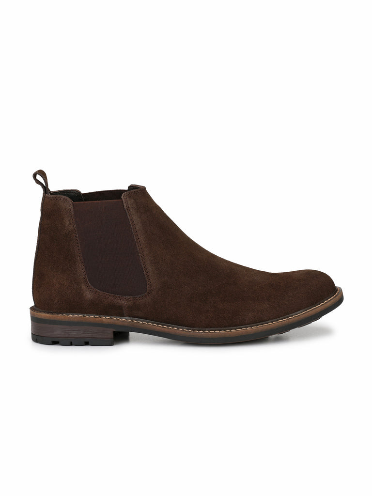 Brown Chelsea Boots | Full Grain Leather | Saddle & Barnes