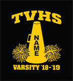 TVHS Cheer Decal (TVHS VM2P)
