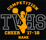 TVHS COMPETITION Cheer Decal