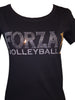 Forza 1 Volleyball Bling Tees