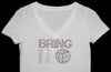 Bring It On Volleyball Tee