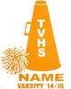 TVHS Cheer Decal (VM1P)