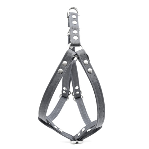 WAXED CANVAS HARNESS: charbon