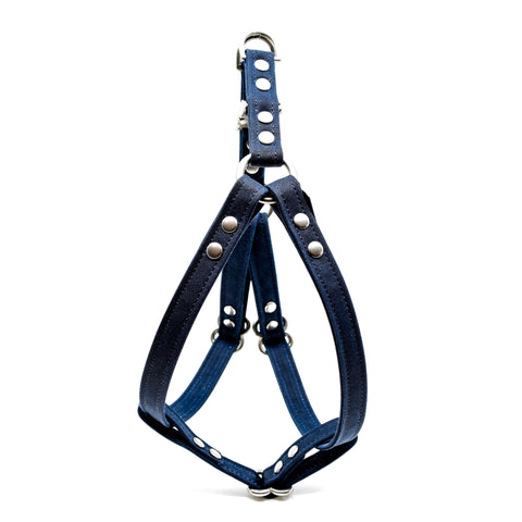 WAXED CANVAS HARNESS: bleu nuit