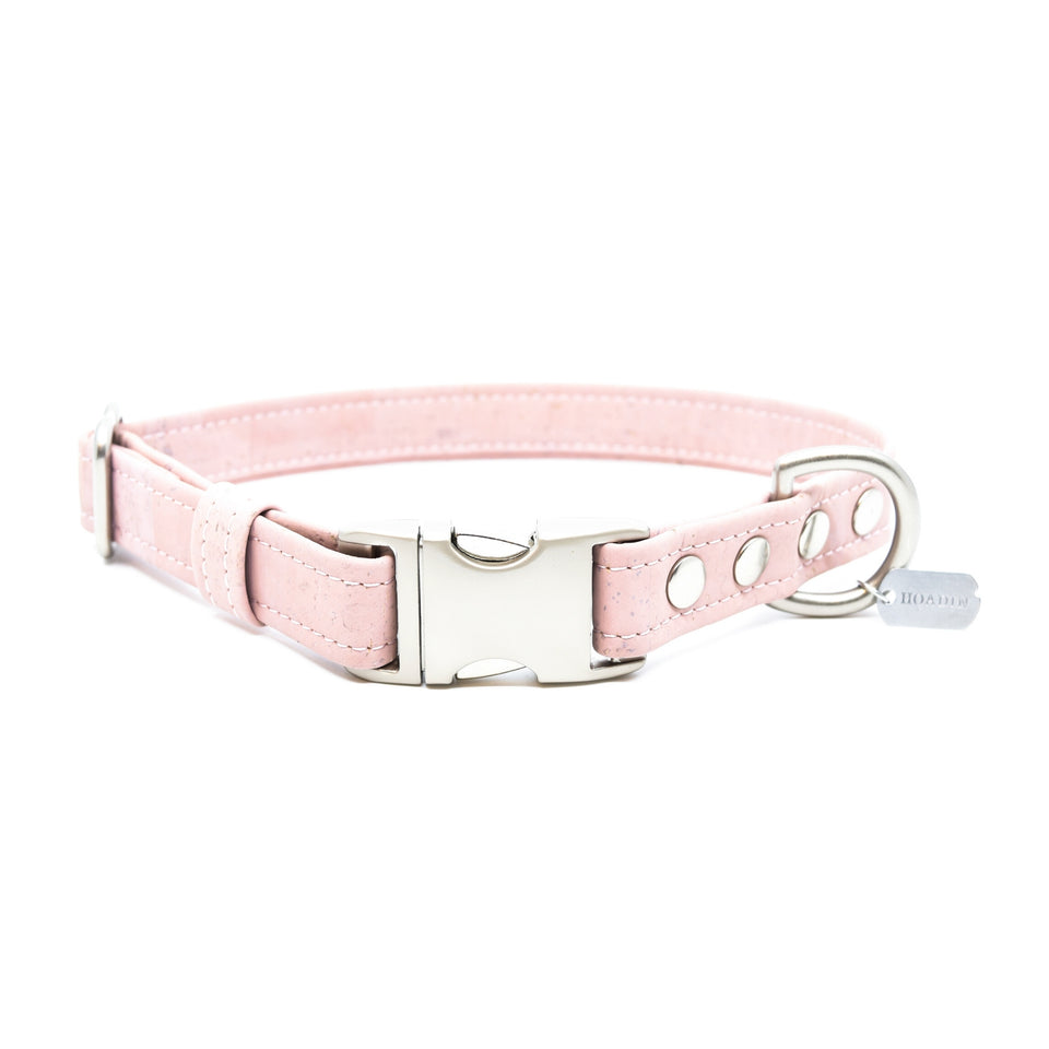 COLLIER EN LIÈGE: light pink