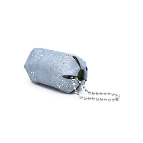 MERDE ARRIVE: bag holder (silver)