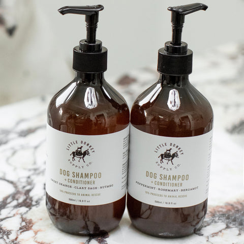 PEPPERMINT + ROSEMARY + BERGAMOT shampoo + conditioner