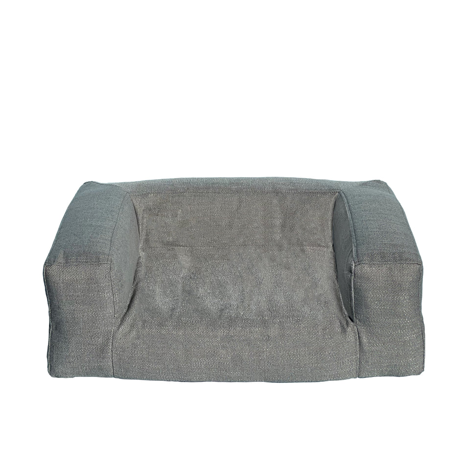 GREY TWEED dog sofa (3 sizes)