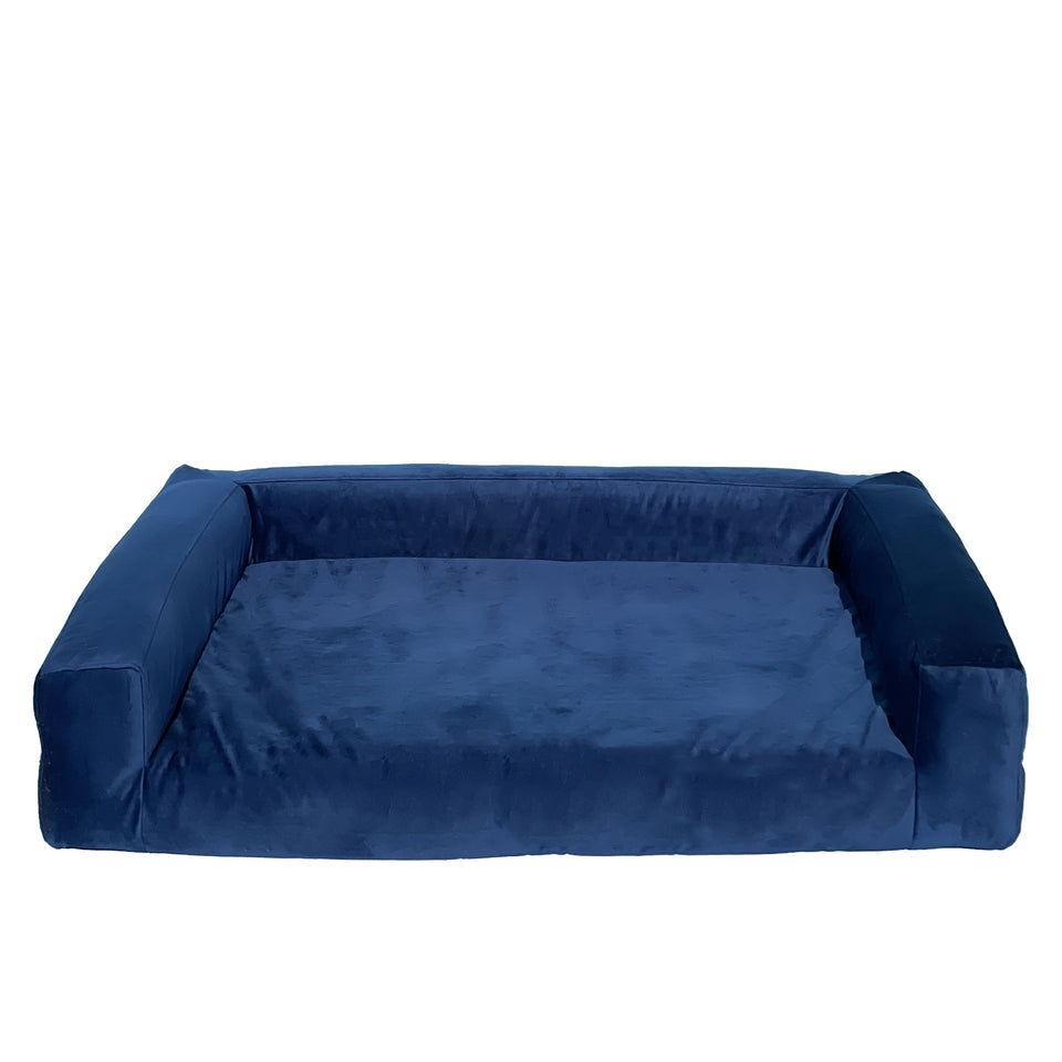 BLUE VELVET dog sofa (3 sizes)