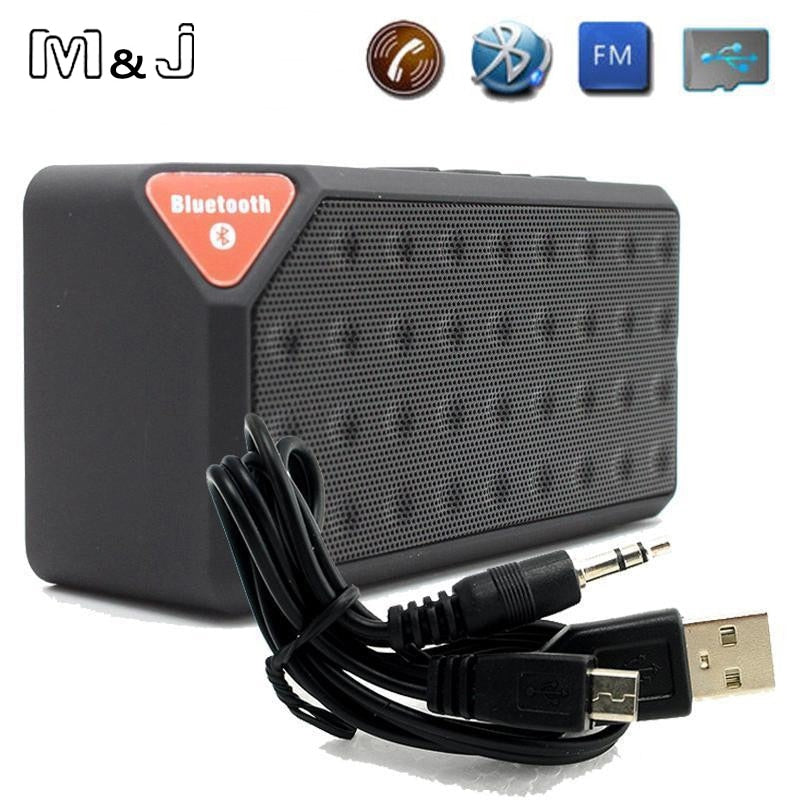 Bluetooth Speaker X3 Jambox Style TF USB FM Wireless Portable Music Sound Box Subwoofer Loudspeakers